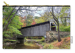 Glen Hope Covered Brige During Autumn Carry-all Pouch
