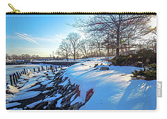Glen Island Snowfall Carry-all Pouch