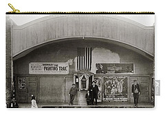 Glen Lyon Pa. Family Theatre Early 1900s Carry-all Pouch