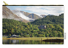 Carry-all Pouch featuring the photograph Glencoe House Landscape by Grant Glendinning
