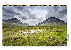 Carry-all Pouch featuring the photograph Glencoe by Jeremy Lavender Photography