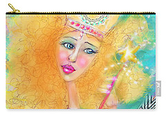 Carry-all Pouch featuring the digital art Glenda by Kari Nanstad