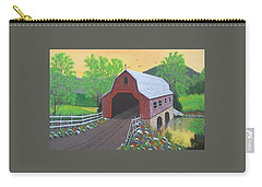 Glenda's Covered Bridge Carry-all Pouch