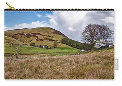 Carry-all Pouch featuring the photograph Glendevon In Central Scotland by Jeremy Lavender Photography