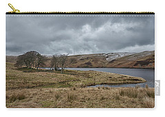 Carry-all Pouch featuring the photograph Glendevon Reservoir In Scotland by Jeremy Lavender Photography