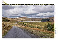 Carry-all Pouch featuring the photograph Glensherup Reservoir by Jeremy Lavender Photography