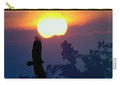 Gliding By The Sun Carry-all Pouch