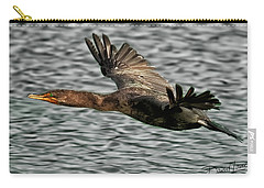 Gliding Cormorant Carry-all Pouch