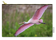 Gliding Spoonbill Carry-all Pouch