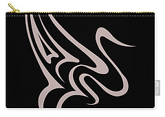 Gliding Swan Carry-all Pouch by Jamie Lynn
