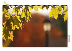 Carry-all Pouch featuring the photograph Glimpse Of Autumn by Aimelle
