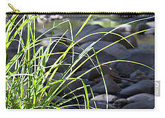 Carry-all Pouch featuring the photograph Glistening In The Sunlight by Linda Lees