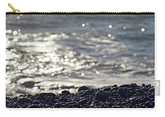 Glistening Rocks And The Ocean Carry-all Pouch