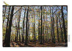 Carry-all Pouch featuring the photograph Glorious Forest by Kennerth and Birgitta Kullman