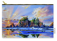 Carry-all Pouch featuring the painting Glorious Point Of The Arches by Hanne Lore Koehler