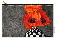 Glorious Poppies Carry-all Pouch