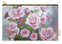 Glorious Roses Carry-all Pouch