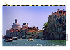 Carry-all Pouch featuring the photograph Glorious Venice by Anne Kotan