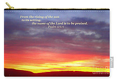 Glory And Praise  Carry-all Pouch by Christina Verdgeline