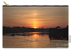 Glory Of The Morning On The Water Carry-all Pouch