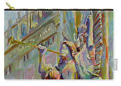 Carry-all Pouch featuring the painting Glory To God In The Highest by Chris Brandley