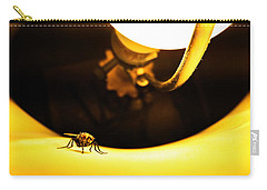 Carry-all Pouch featuring the photograph Glow Fly by Robert Knight