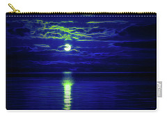 Glow In The Dark Amazing Sunset  Carry-all Pouch