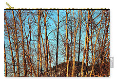 Carry-all Pouch featuring the photograph Glow Of The Setting Sun by Will Borden