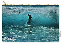 Glow Of The Surf Carry-all Pouch by Craig Wood