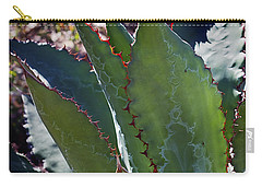 Carry-all Pouch featuring the photograph Glowing Agave by Phyllis Denton