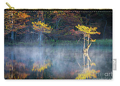Glowing Cypresses Carry-all Pouch by Inge Johnsson