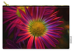 Glowing Eye Of Flower Carry-all Pouch
