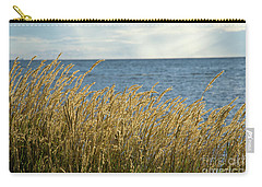 Glowing Grass By The Coast Carry-all Pouch
