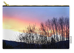 Carry-all Pouch featuring the photograph Glowing Kalamalka Lake by Will Borden