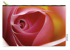 Glowing Rose Hdr Carry-all Pouch