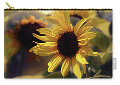 Carry-all Pouch featuring the photograph Glowing Sun by John Rivera