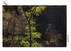 Glowing Tree At Zion Carry-all Pouch