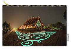 Glowing Wat Sirintorn Wararam Temple, Ubon Carry-all Pouch