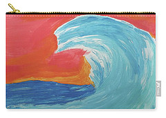 Gnarly Wave  Carry-all Pouch by Don Koester
