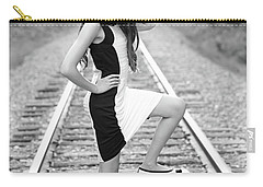 Carry-all Pouch featuring the photograph Go Far by Barbara West