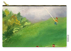 Go Fly A Kite Carry-all Pouch by Denise Tomasura