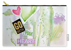 Go With Your Heart Carry-all Pouch
