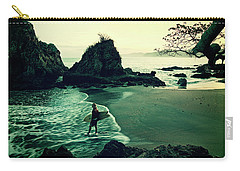 Carry-all Pouch featuring the photograph Go Your Own Way by Nik West