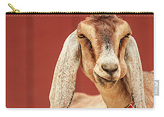 Goat With An Attitude Carry-all Pouch