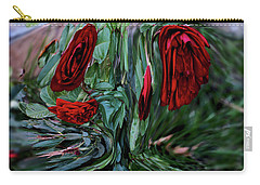 Goblet Of Roses Carry-all Pouch by Aliceann Carlton