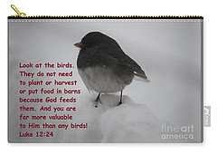 God Takes Care Of Us Carry-all Pouch