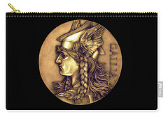 Goddess Of Gaul Carry-all Pouch by Fred Larucci