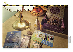 Carry-all Pouch featuring the photograph Goddess Provisions Box For June 2017 by Denise Fulmer