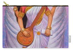 Goddess Saraswati Carry-all Pouch