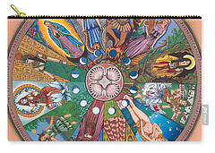 Goddess Wheel Guadalupe Carry-all Pouch
